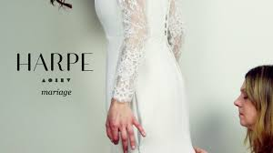 harpe artisan vintage wedding dresses made in paris by benesty