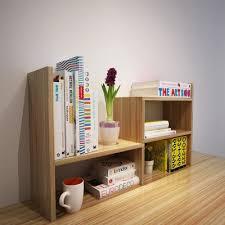childrens desk and bookshelves creative desktop bookshelf shelf small bookcase simple student table