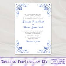 royal blue wedding invitations royal blue wedding invitation designs lace wedding invitation