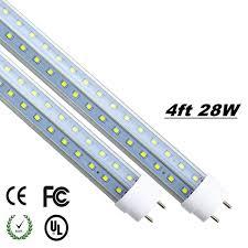led 4 ft lights led tube 4ft t8 4 foot tubes g13 18w 20w 25w 28w r17d fa8 single pin