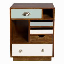 cute cheap vintage bedside tables 5 architecture designs table engaging cheap vintage bedside tables 17 furniture retro brown teak wood bed side table with blue