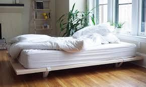 Simple Platform Bed Frame Bedroom Design Platform Bed Frame On Casters Wooden Platform Bed