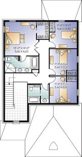 Double Master Bedroom Floor Plans by House Plan W3859 Detail From Drummondhouseplans Com