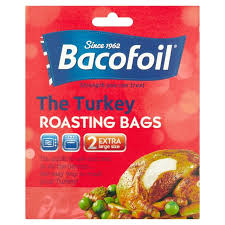 turkey bags bacofoil the turkey roasting bags 2 per pack from ocado