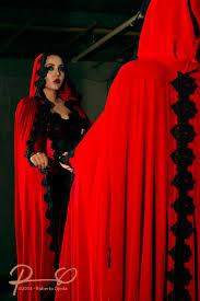 belinda u0027s designs haute couture lady in red cape
