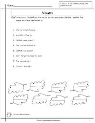 noun worksheets grade 1 worksheets