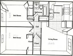 One Room Cottage Floor Plans 100 One Bed Bungalow Plans Bedroom 1 Bedroom Bungalow House