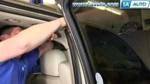 Glass Door Weatherstripping by How To Install Replace Door Weatherstrip Seal 2000 06 Chevy