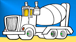 monster truck coloring pages for kids youtube