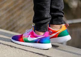 rosch runs nike roshe runs in tie dye colors sneakernews