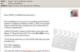 marriage invitation sle mail for wedding invitation 2094