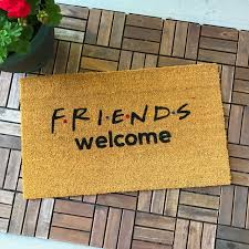 Unique Housewarming Gifts by Friends Tv Show Gifts Friends Gift Welcome Mat Unique