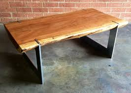 Build Wood Slab Coffee Table by Josh Utsey Design Live Edge Coffee Table Slab Sycamore Charlotte