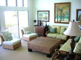 tropical themed living room tropical green living room with rattan furniture designer and