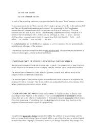 Intensive And Reflexive Pronouns Worksheet Parts Of Speech Notatki Język Angielski Część 1