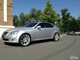 lexus is 250 custom gallery niche wheels