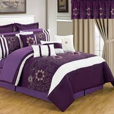 Teal And Purple Comforter Sets Furnitures Furnitures Reversible Complete Bedding Amazoncom