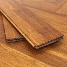 Bamboo Floor Protector Solid Carbonised Strand Woven 90mm Parquet Block Bona Coate