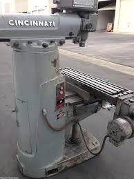 cincinnati toolmaster vertical milling machinestation