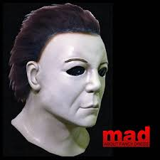 trick or treat studios halloween ii michael myers mask iron maiden mask eddie mask horror shop com amazon com trick or