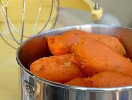patate douce cuisiner purée de patates douces aux épices