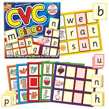 N Cvc Words by Phonics Literacy Curriculum Resources The Consortium Education