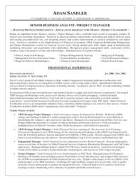business sample resume brilliant ideas of business systems analyst