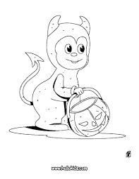baby devil coloring pages hellokids com