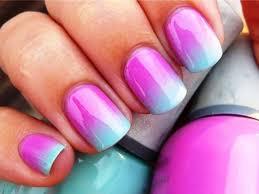 diy ombre nail art