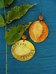 autumn ornaments humblebeads jewelry