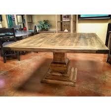 custom wood dining tables square wood dining table alder la casona custom furniture