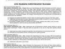 System Administrator Resume Sample by Download Linux System Engineer Sample Resume
