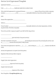 service agreement template terms of service agreement template