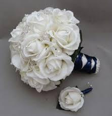 wedding flowers etc 2017 diy artificial wedding bouquets silk colorful green ivory