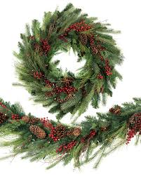 artificial christmas wreaths garlands u0026 foliage balsam hill