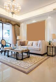 floor and more decor simple living room in beige with a marble floor marble floor