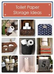 Bathroom Tissue Storage Less Is More With This Sweetly Simple Toilet Paper Storage In A
