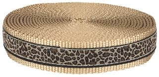 leopard ribbon buy 1 inch leopard print ribbon on copper gold webbing