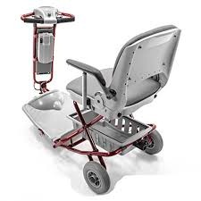 the lexis light foldable mobility scooter tzora classic lexis light folding travel scooter red challenger