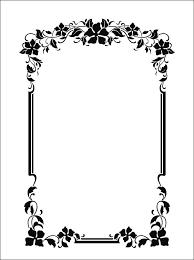 nouveau ornament for great projects svg dxf pdf