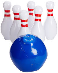 amazon com yinarts giant inflatable bowling set toys u0026 games