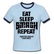 free shipping music dj dimitri vegas men t shirt letters printed