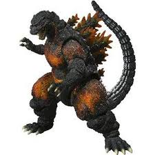 bandai tamashii nations burning godzilla s h monsterarts