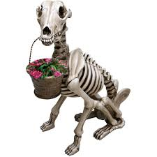 halloween posable skeleton outdoor garden decor plastic outdoor