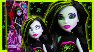 scarah screams monster high doll review and custom eyes re paint