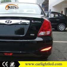hyundai accent lights rear bumper reflector led l light for hyundai accent solaris