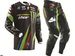 monster motocross helmets thor mx racing monster energy pro circuit jersey pant men s