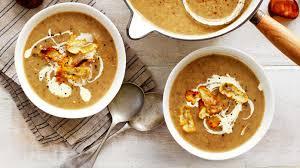 chestnut and mushroom soup recipe 9kitchen