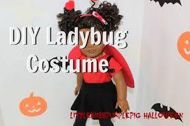 ladybug halloween costume american ladybug costume tutorial youtube