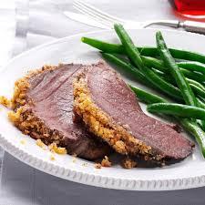 italian crumb crusted beef roast recipe taste of home